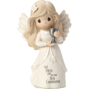 Precious Moments Communion Blonde Angel Figurine