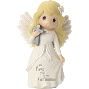 Precious Moments Confirmation Blonde Angel Figurine