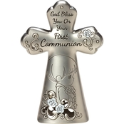 Precious Moments First Communion Boy Cross Figurine