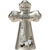 Precious Moments Confirmation Girl Cross