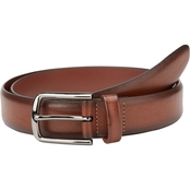 Perry Ellis Park Ave Leather Belt