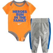 Nike Infant Boys Heroes Run in the Family 2 Pc. Set