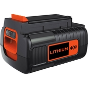 Black & Decker 40V MAX Lithium Ion Battery 2.5 Ah
