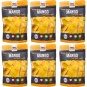 Wise Company Emergency Food Simple Kitchen Freeze-Dried Mangos, 6 pk.