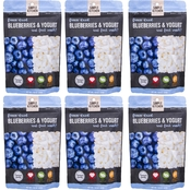 Wise Company Emergency Food Simple Kitchen Freeze-Dried Blueberries & Yogurt, 6 pk.