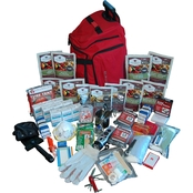 Wise Company Emergency 2 Week Essential Survival Backpack for 1 Person, Red