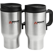 Wagan 12V Heated Travel Mug 2 pk.