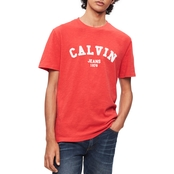 the latest 2de28 2e34e Calvin Klein Jeans Block Letter Crewneck Tee