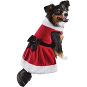 Petco Holiday Tails Mrs. Claus Dog Costume