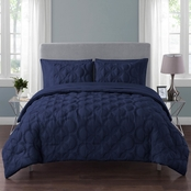VCNY Atoll 7 pc. Bed in a Bag Comforter Set