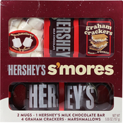 Hershey's S'mores 2 Mug Gift Set with Chocolate