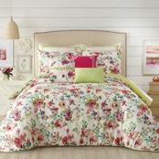 Jessica Simpson Watercolor Garden Comforter Set