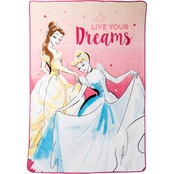 Disney Princesses Royal Dreams Come True Blanket