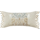Marquis by Waterford Warren Multicolor 11 x 22 in. Decorative Pillow