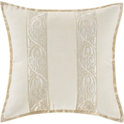 Marquis by Waterford Warren Multicolor 16 x 16 in. Decorative Pillow