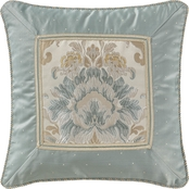 Marquis by Waterford Warren Multicolor 18 x 18 in. Decorative Pillow