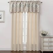 Marquis by Waterford Warren Multicolor Tailored Valance