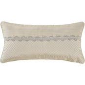 Marquis by Waterford Emilia 11 x 22 in Decorative Pillow