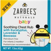 Zarbees Baby Chest Rub, 1.5 oz.