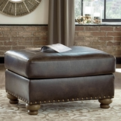 Signature Design by Ashley Nicorvo Ottoman