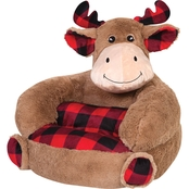 Trend Lab Buffalo Check Moose Chair