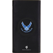 QuikVolt Air Force Wireless Mobile Charger Black