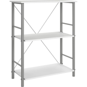 DHP Garrett 3 Shelf Bookcase