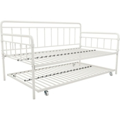 DHP Wallace Metal Daybed with Trundle