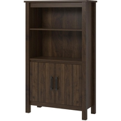 Ameriwood Home Eastwood 3 Shelf Bookcase with Doors