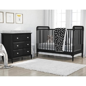 Little Seeds Feathers Crib and Toddler Bedding 4 pc. Set