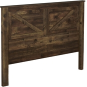 Ameriwood Home Farmington Queen Rustic Headboard
