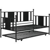 DHP Langham Metal Daybed with Trundle