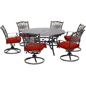 Hanover Traditions 7 pc. Outdoor Dining Set