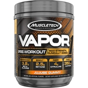 MuscleTech Vapor One Jujube Candy Supplement, 20 Servings