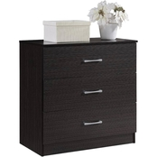 Hodedah 3 Drawer Chest