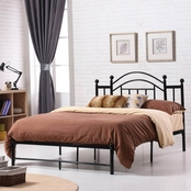 Hodedah Metal Platform Bed