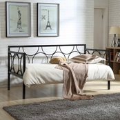 Hodedah Metal Day Bed