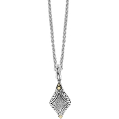 Effy Sterling Silver and 18K Yellow Gold 1/3 CTW Diamond Pendant