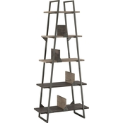 Bush Furniture Refinery A Frame Bookshelf