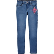 OshKosh B'gosh Little Girls Skinny Denim Jeans