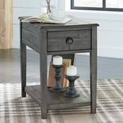 Signature Design by Ashley Borlofield Rectangular End Table