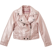 Urban Republic Little Girls Faux Leather Moto Jacket