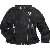 Urban Republic Girls Faux Leather Moto Jacket