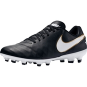 Nike Men's Tiempo Genio II Leather Firm Ground Soccer Cleats