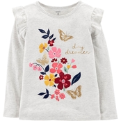 Carter's Girls Day Dreamer Floral Matchtastic Top