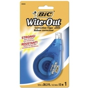 BIC White Out Correction Tape