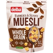 Delba Whole Grain Muesli 3 pk.