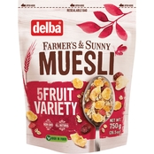 Delba Five Fruit Muesli 3 pk.