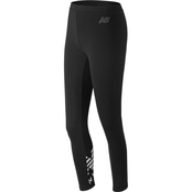 New Balance Essential Cotton Leggings Black