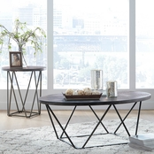 Signature Design by Ashley Neimhurst Occasional Table Set